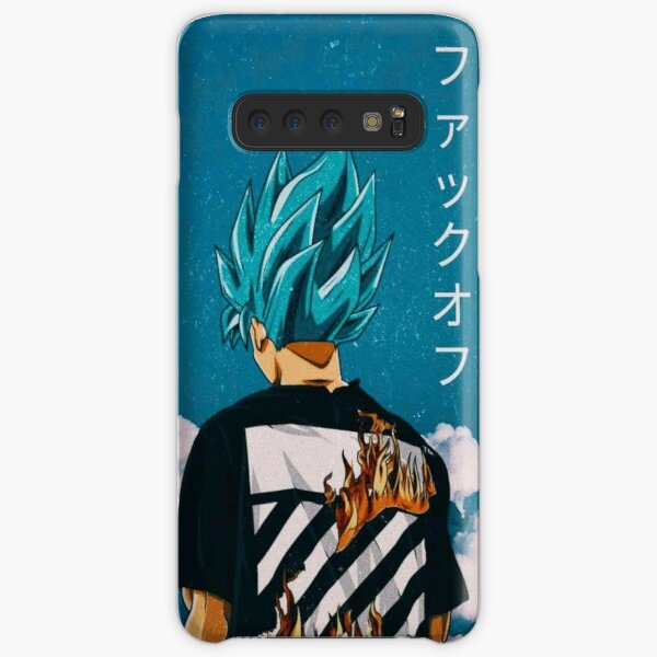 Goku Blue Trip Samsung Galaxy Snap Case