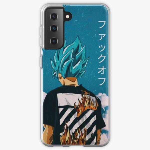 Goku Blue Trip Samsung Galaxy Soft Case