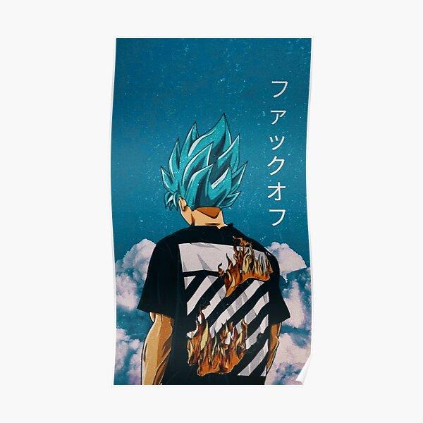 Goku Blue Trip Poster