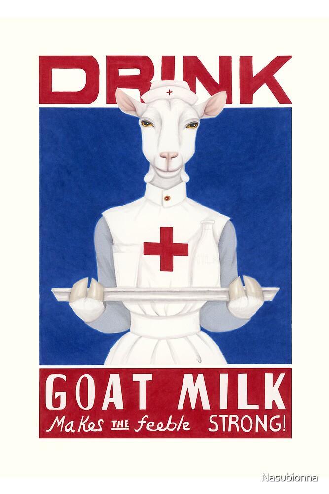 Drink Goat Milk! by Nasubionna