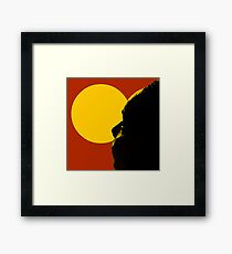 Aussie Dreaming - Red Framed Print
