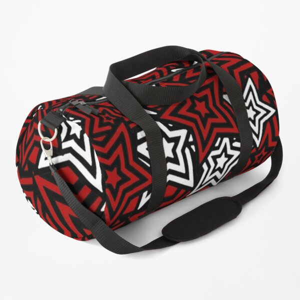 Persona 5 Royal Phantom Thief Star Mask Pattern Duffle Bag