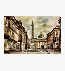 Textured Newcastle Upon Tyne Photographic Print