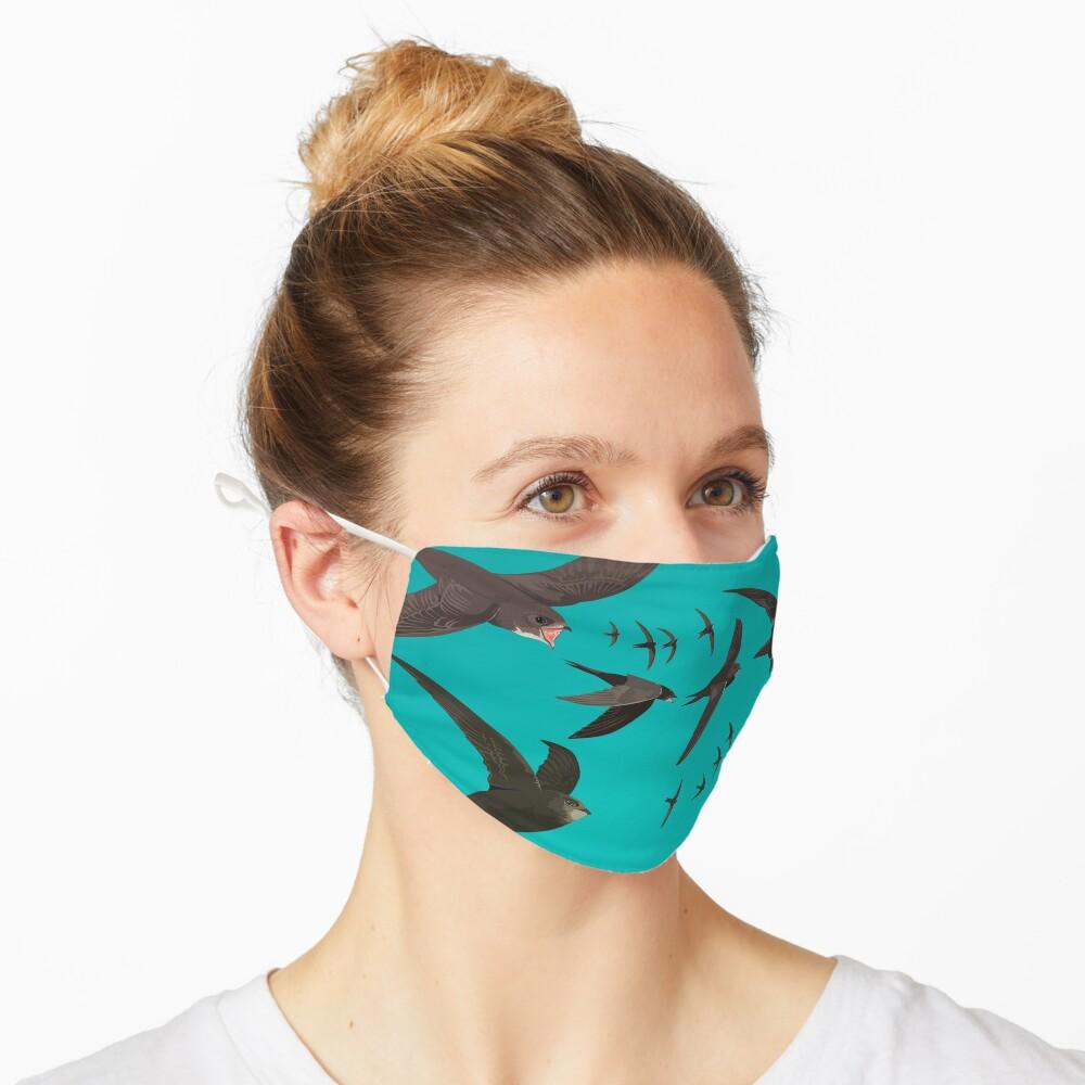 Swifts Mask - Birdwatching Wildlife Mask