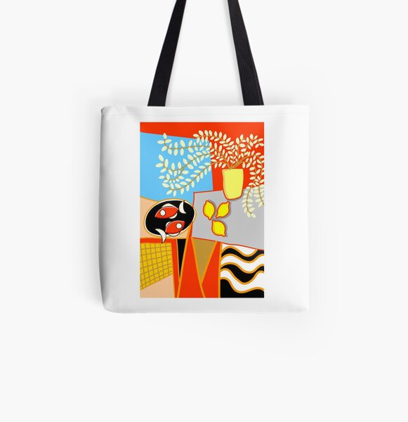 Henri-style still life All Over Print Tote Bag