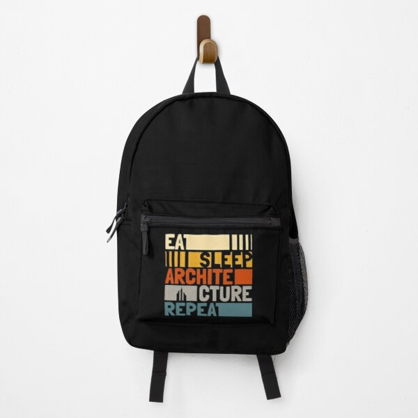 Eat Sleep Architecture Repeat Funny Backpack