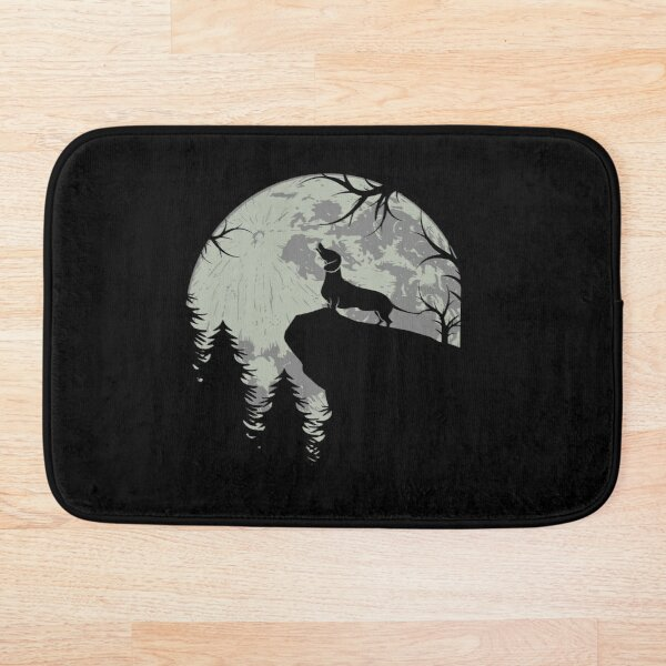 then this Teckel Vintage Dachshund Shirt is ideal for you. Whether dog owner or dog lover, this Dachshund Dachshund gift is perfect for dog owners. Bath Mat