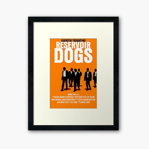 Reservoir Dogs Movie Poster Framed Art Print