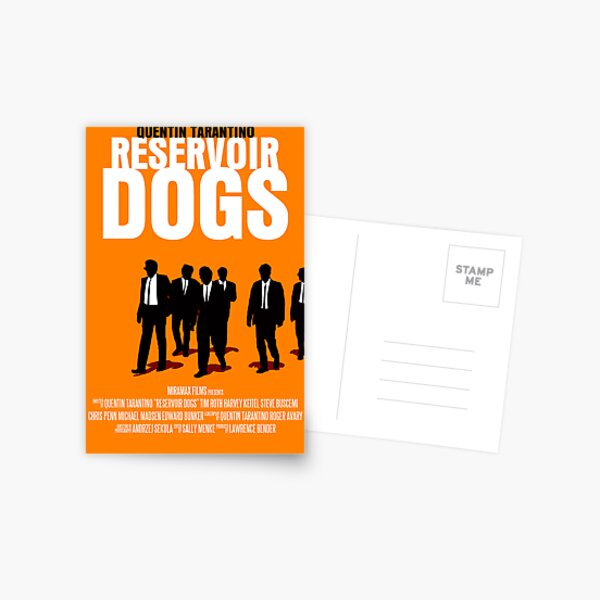 Reservoir Dogs Movie Poster Postcard