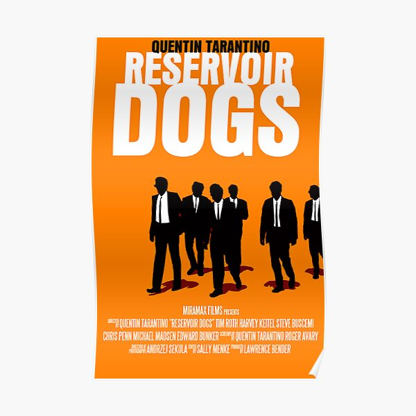 Affiche de film Reservoir Dogs Poster
