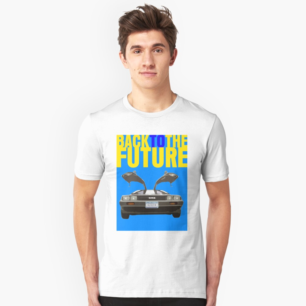 Back To The Future Movie Poster Unisex T-Shirt Front