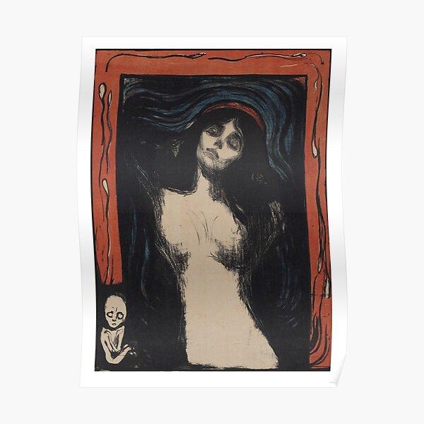 The Madonna Edvard Munch Poster