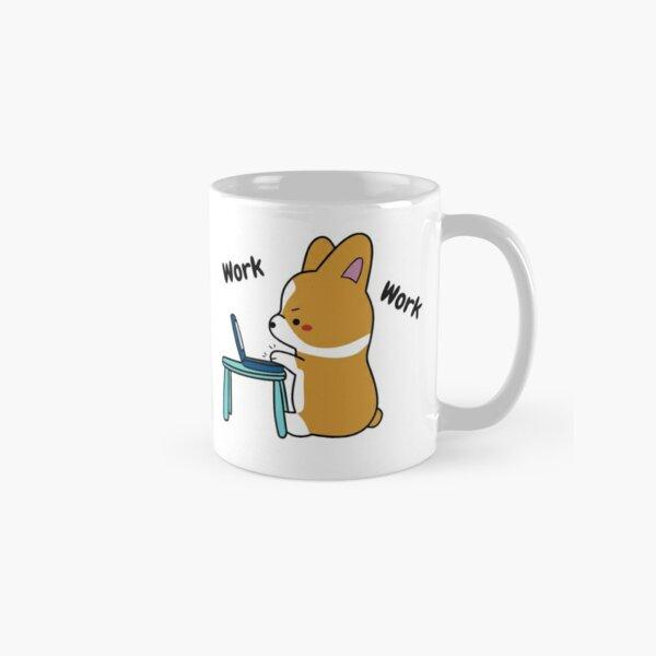 Work From Home Corgi Classic Mug