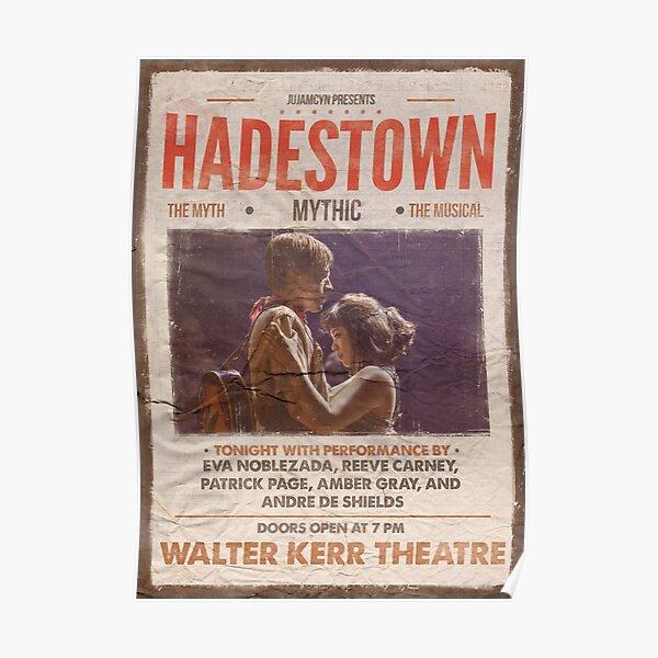 Hadestown Vintage Poster Poster