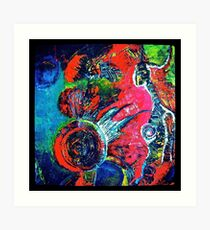 Planetary Emotions Art Print