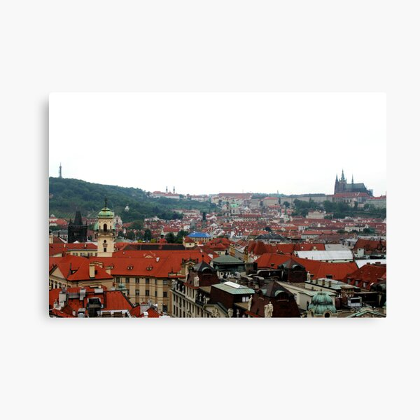 Prague Skyline Canvas Print