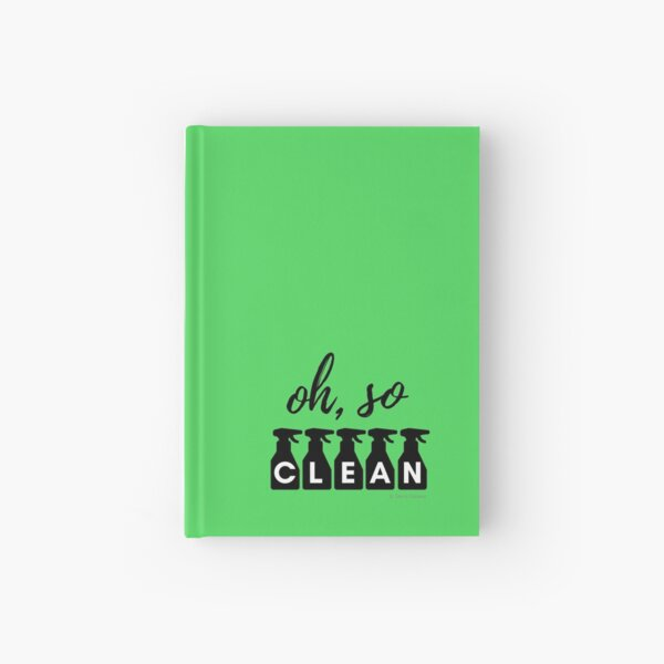 Oh, So Clean Cleaning Lady Gift Hardcover Journal
