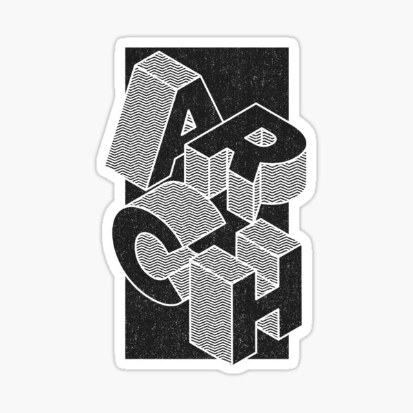 Blocs ARCH Sticker