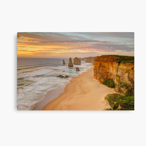 The 12 Apostles by sunset Canvas Print