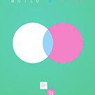 White & Pink by crashin