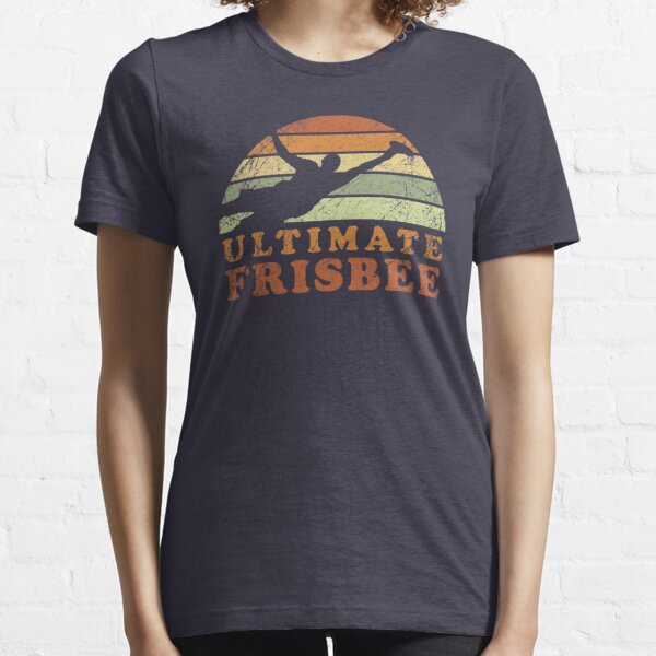Retro Frisbee for the Ultimate Frisbee Player Essential T-Shirt