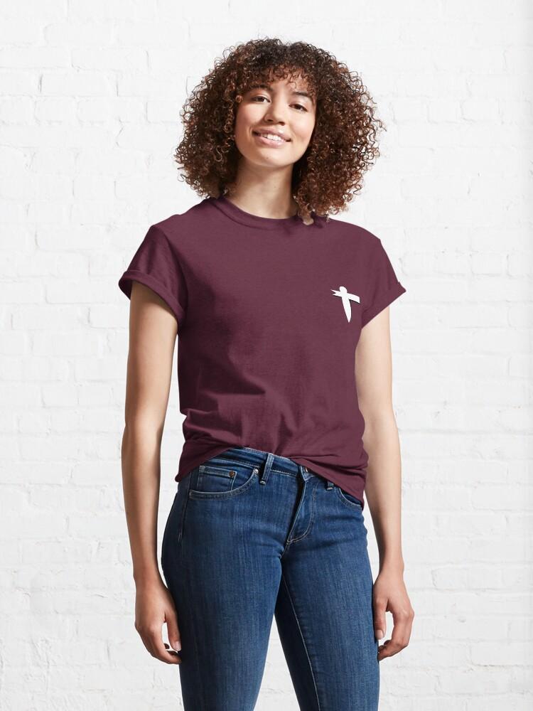 Alternate view of Paper Bird | Chihiro Classic T-Shirt