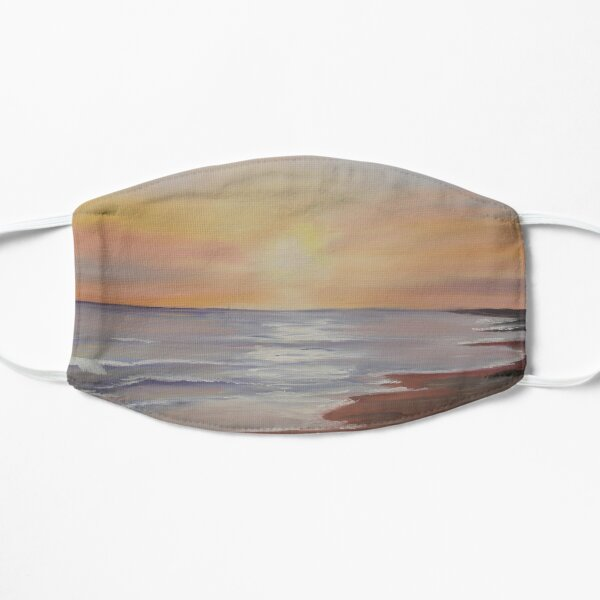 Barmouth Sunset - oil painting design Mask