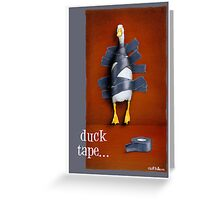 "Will Bullas card ""duck tape"" Greeting Card"