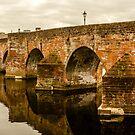 Structure, Devorgilla brodge, Dumfries, Scotland by Hugh McKean