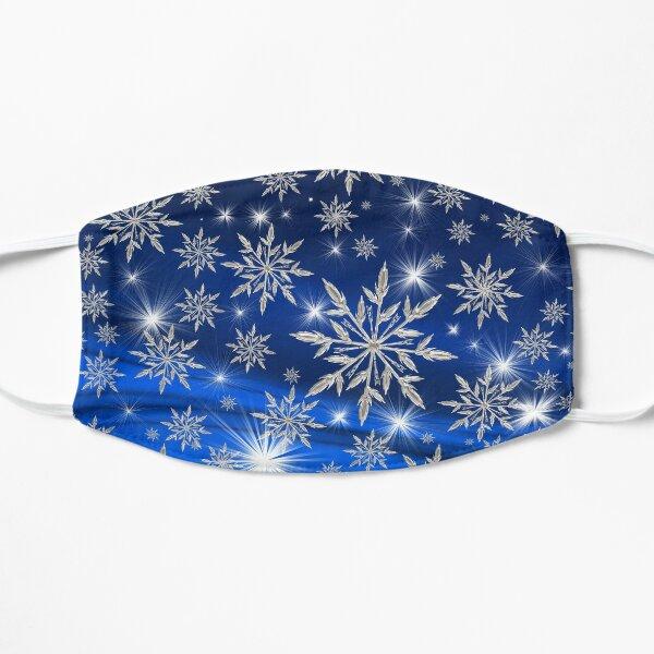 Snowflakes Flat Mask