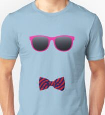 Pink sunglasses and Bowtie T-Shirt