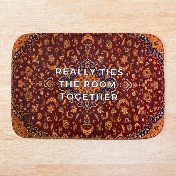 This rug really ties the room together Bath Mat