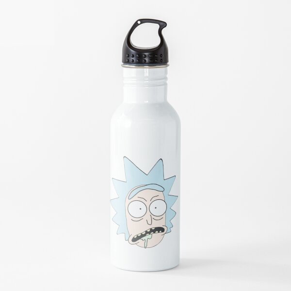 Rick from Rick and Morty sticker Water Bottle