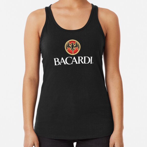 let's have fun with bacardi Racerback Tank Top
