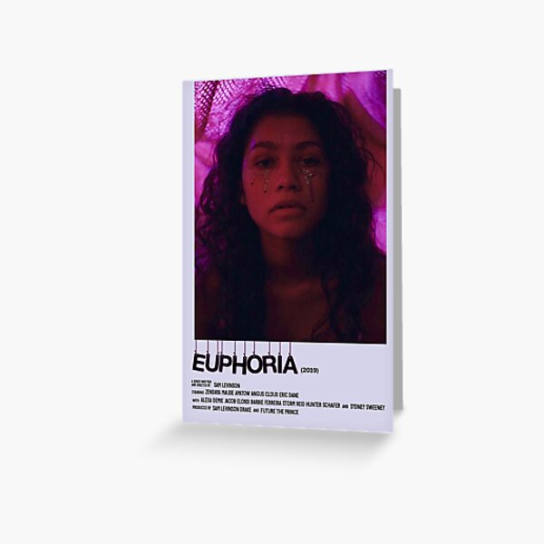EUPHORIA (zendaya) Greeting Card