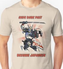 Transformers Drift Shirt: Have Dark Past - Become Japanese Unisex T-Shirt