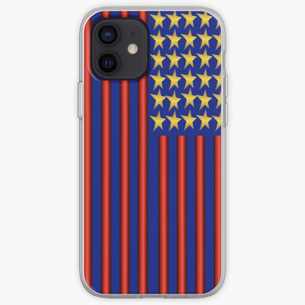 Stars And Stripes (USA 3) iPhone Soft Case