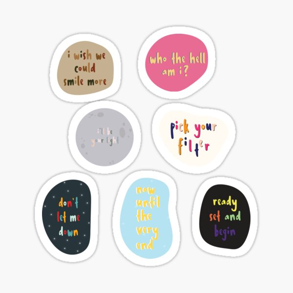 Map of the Soul: 7 Solos (OT7 Pack) Sticker