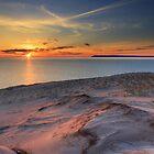 Sunset on Sleeping Bear Dunes National Lakeshore by Daniel Brown