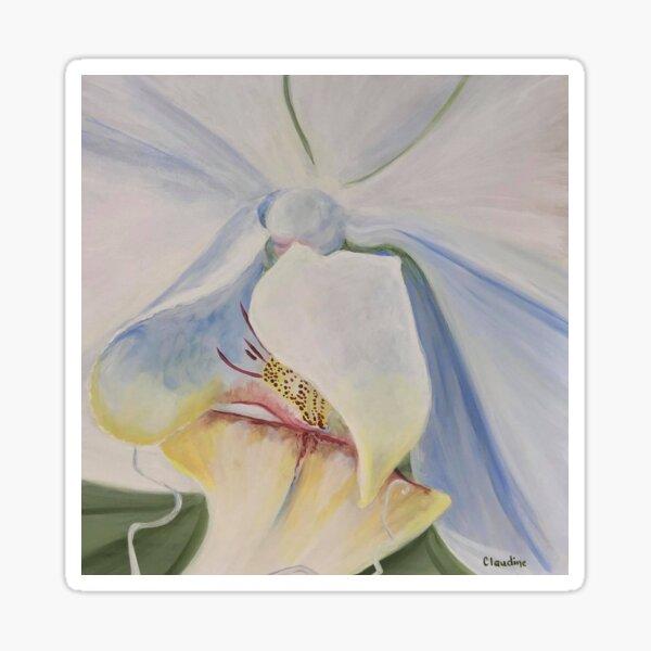 Euphoric Orchid Sticker