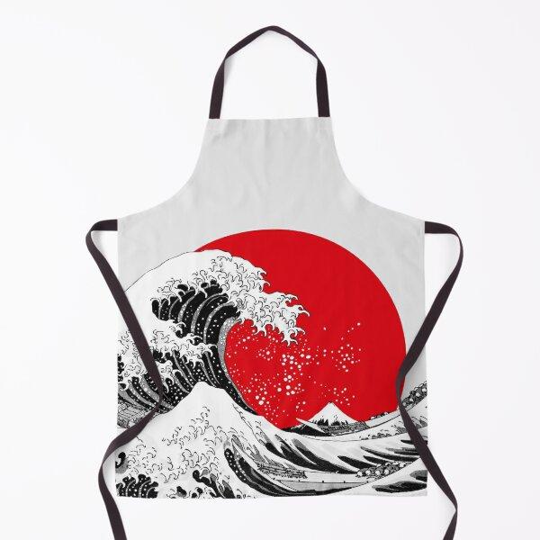 The Great Wave Off Kanagawa, Big Red Sun Apron