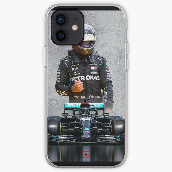 Lewis Hamilton Mercedes 2020 Coque souple iPhone