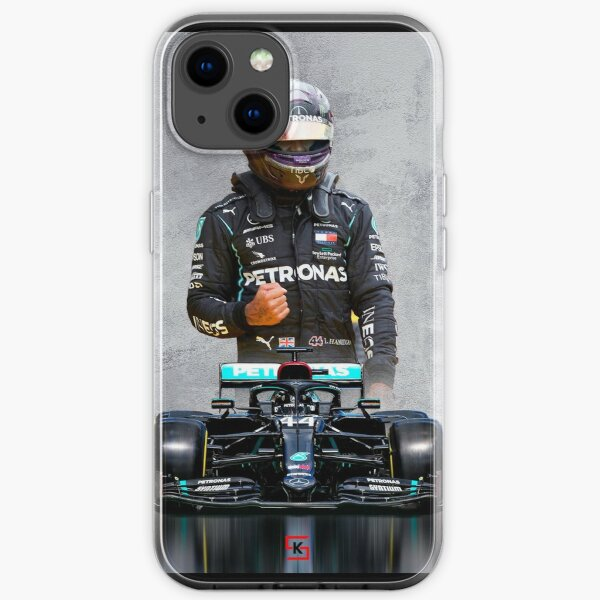 Lewis Hamilton Mercedes 2020 iPhone Flexible Hülle
