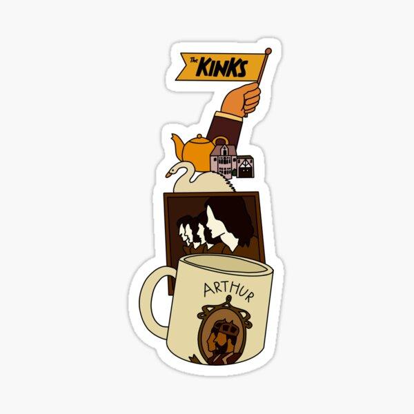 arthur -- the kinks Sticker