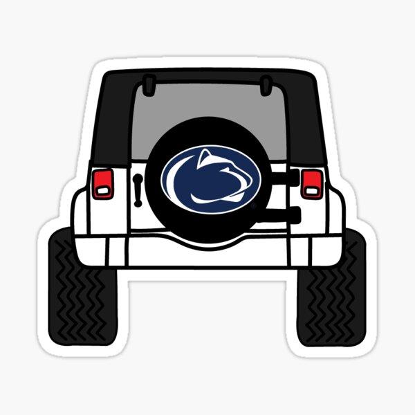 PSU Jeep Sticker