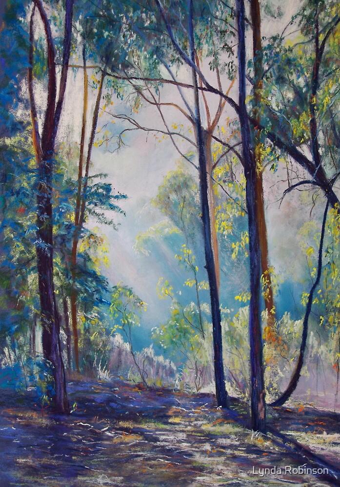 Early Morning Bushwalk by Lynda Robinson