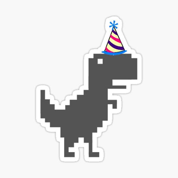 party dinosuar boi Sticker