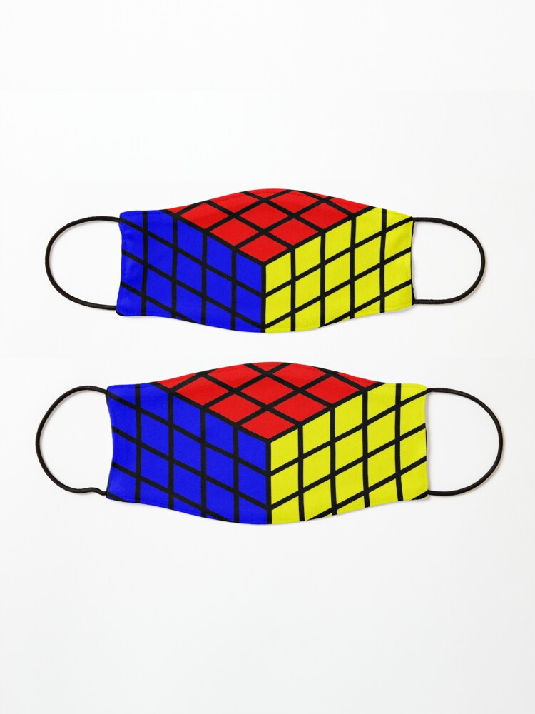 Alternate view of Rubik's Cube Mask
