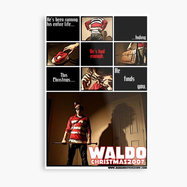Waldo Metal Print