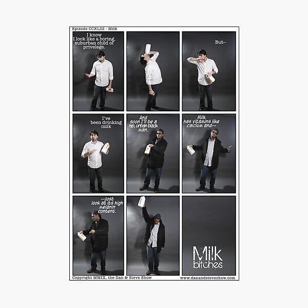 Milk Photographic Print